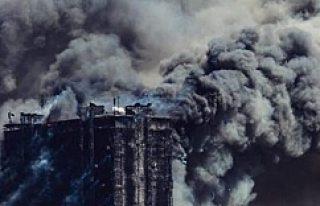 Bakü'de yangın: 16 ölü