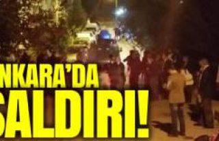 Başkent Ankara'da polise silahlı saldırı