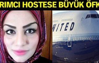 Başörtülü yolcuya ayrımcılık yapan hostese...