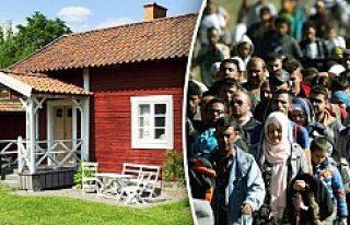 Bedava lüks evleri köylü işi diyerek reddettiler