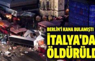 Berlin'i kana bulayan terörist İtalya'da...