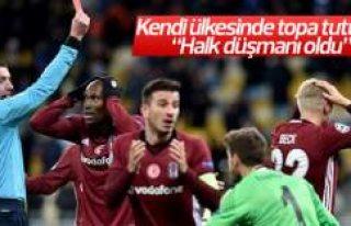 Beşiktaş'ı yakan hakem kendi ülkesinde de...