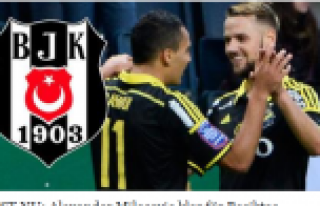 Beşiktaş'a, İsveçten sürpriz transfer....