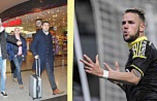 Beşiktaş'ın İsveç AIK'li yeni transferi İstanbul'da