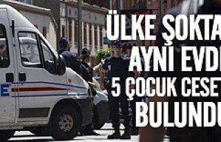 Bir evde 5 çocuk ceseti bulundu Polis bile şoke...
