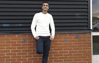 Bir yılda İsveççeyi öğrenen Suriyeli Muhammed,...