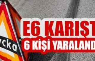Bu seferde İsveç'in E6 yolu karıştı