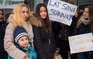 Bütün aile 4 yıl sonra İsveç'ten sınır dışı...
