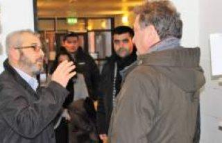 Büyükelçi Türkmen, Bredeng Mescidi'nin son...