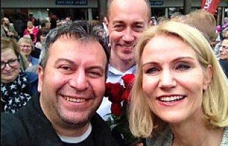 Danimarka Başbakanı Schmidt, KULU'lulardan...