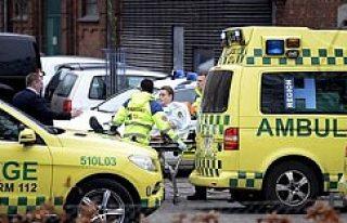 Danimarka silahlı saldırı; 1 ölü 3 yaralı...VİDEO