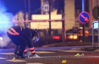 Danimarka'da  bir Türk genci vuruldu...VİDEO