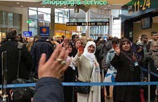 Diyanet Umre yolcuları İsveç'ten Kutsal topraklara...