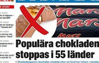 Dünyaca ünlü çikolata toplatılıyor; Bakın Neden?