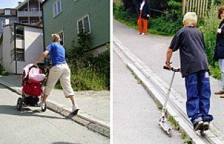 Dünya'nın ilk bisiklet asansörü Norveç'te...