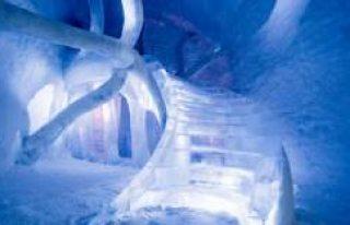 Dünyanın İlk Kalıcı Buz Oteli İsveç'te...