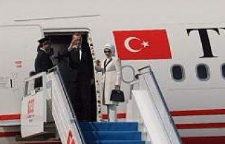Erdoğan'ın uçağında sürpriz isim