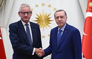 Erdoğan, İsveçli Eski Bakan Carl Bildt'i Kabul...
