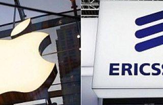 Ericsson, İphone'nun yasaklanmasını istedi
