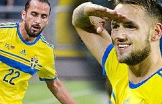 Erkan Zengin ve Alexander Milosevic, İsveç Milli...