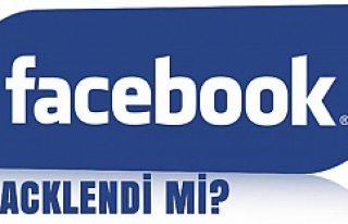 Facebook'ta hack sinyali!