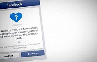 Facebook 'tan intihar önleme butonu