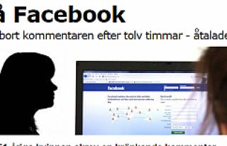 Facebook'ta hakaret eden kadına 5 bin kron para...