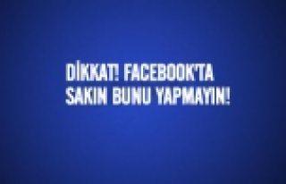 Facebook'ta profilinize bakanları görmek için bu...