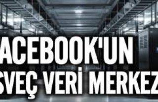 Facebook'un İsveç'teki veri merkezinin fotoğrafları...