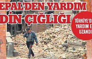 Felaketin beşiği Nepal'e Türkiye'den...