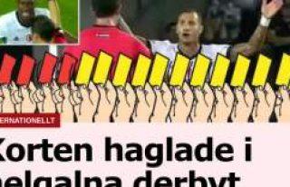Fenerbahçe- Beşiktaş Derbisi İsveç Basınında...