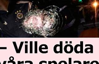 Fenerbahçe otobüsüne saldırı, İsveç basınında...