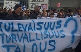Finlandiyalılar sığınmacıları ülkeye sokmadı