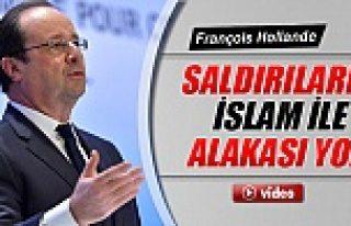 Fransa Cumhurbaşkanı Hollande: 'Saldırıların...