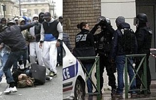 Fransa da Müslümanlara Yönelik İğrenç Saldırılar...