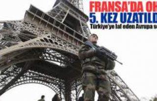 Fransa'da OHAL beşinci kez uzatıldı