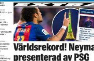 Futbol tarihinin en pahalı transferi Neymar oldu