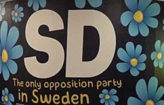 Göçmen Karşıtı Partinin Reklamı İsveç'i...
