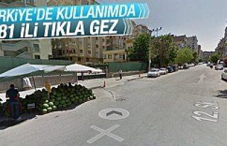 Google Street View Türkiye'de kullanımda!
