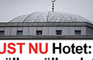 Göteborg Camiisinde bomba alarmı, cami boşaltıldı