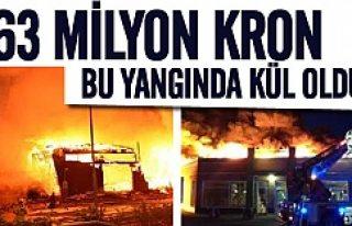 Göteborg'da 63 milyon kron yangında kül oldu!