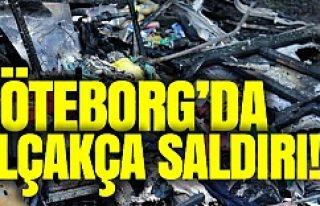 Göteborg'da göçmenlere alçakça saldırı!