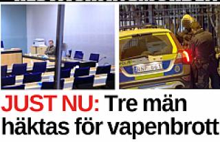 Göteborg saldırısı şüphelisi, 3 kişi tutuklandı