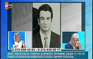 Gözü yaşlı bayan İsveç'te ki kayıp kardeşini...