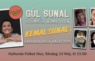 Gül Sunal, Ölümsüz komedyen Kemal Sunal'ı...