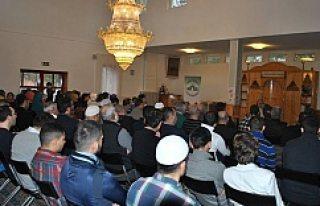 Handen Camisi'nde İsveçli imam Muhammed bereketi...