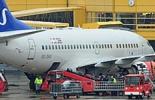 Havada büyük tehlike atlatan SAS Uçağı Stockholm'de...