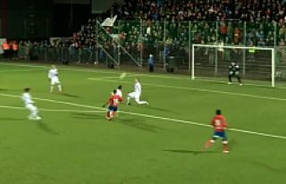 Henrik Larsson oğlundan muhteşem gol...VİDEO