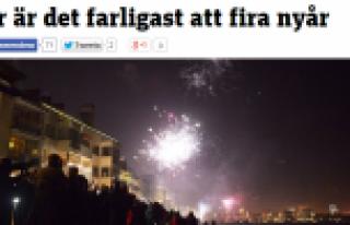 Her yılbaşı günü onlarca İsveçli sakat kalıyor...