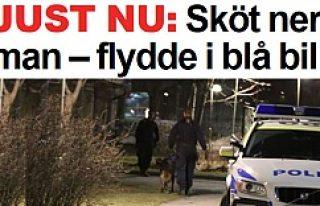 Hässelby'de iki kişi kurşunlandı!